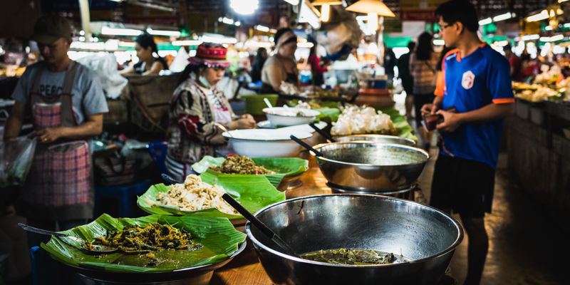 Thai Local Market Image