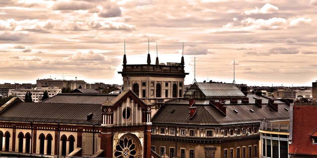 City Architecture Bucharest, Romania