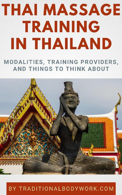 Thai Massage Training in Thailand - eBook