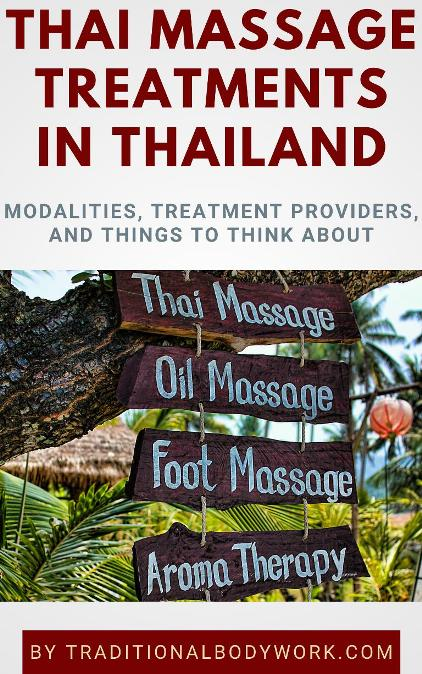 Thai Massage Treatments in Thailand - eBook