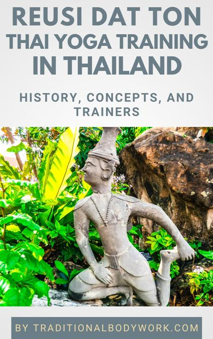 Reusi Datton Thai Yoga Training in Thailand - eBook