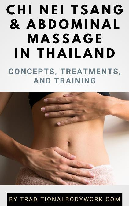 eBook - Chi Nei Tsang & Abdominal Massage in Thailand