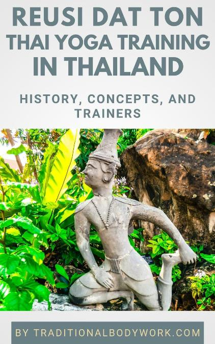 eBook - Reusi Datton Thai Yoga Training in Thailand