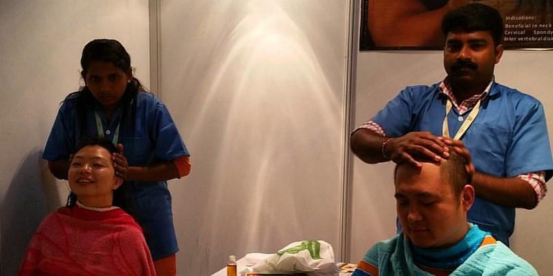 Indian Head Massage | Shiro Abhyanga