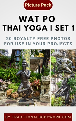 Wat Po Thai Yoga – Set 1 | Picture Pack