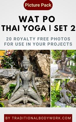 Wat Po Thai Yoga – Set 2 | Picture Pack