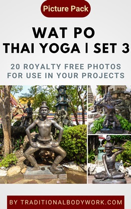 Wat Po Thai Yoga – Set 3 | Picture Pack