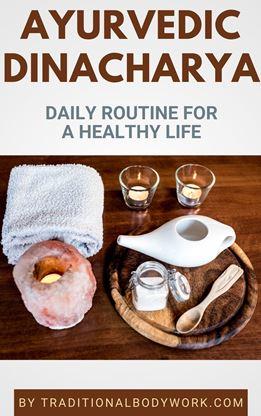 eBook - Dinacharya – Ayurvedic Daily Self-Care